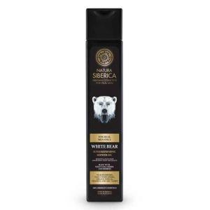 Gel de dus revigorant pentru barbati cu plante siberiene White Bear, 250 ml (2974E)