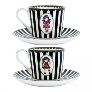 Gorjuss Set cescute ceai - Ladybird  Ruby