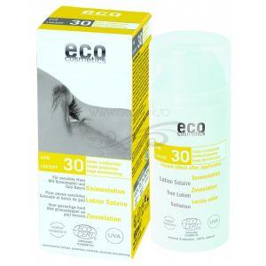 Lotiune fluida de protectie solara FPS 30 cu goji si rodie, 100 ml (74242)