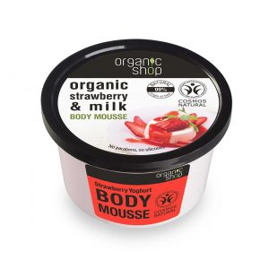 Mousse delicios pentru corp Strawberry Yoghurt, 250 ml (2493E)