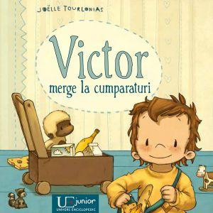Victor merge la cumparaturi