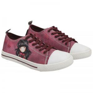 Pantofi sport canvas scurti Santoro Gorjuss-Ladybird