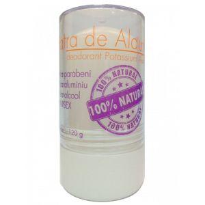 Piatra de Alaun (deodorant mineral), stick 120 gr (ALAUN01)