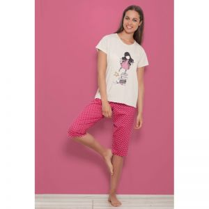 Pijama fete Santoro Gorjuss - New Heights, scurte