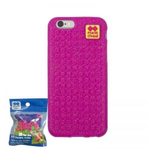 Husa Pixie Iphone 6 roz sclipici
