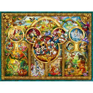 Puzzle Temele Disney, 1000 Piese