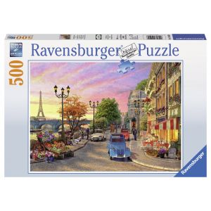 Puzzle O Seara In Paris 500 Piese