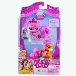 Figurine Disney 3.8 Cm - Pisicuta Aurorei Si Poneiul Lui Belle (beauty Si Petit)