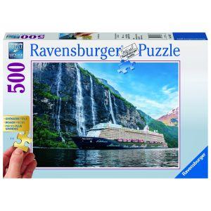 Puzzle Vapor Pe Insula, 500 Piese