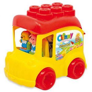 Clemmy - Autobuz Scolar Cu 12 Cuburi