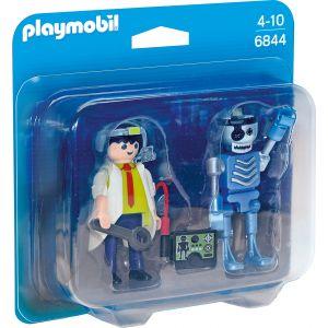 Set 2 Figurine - Om De Stiinta Si Robot