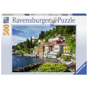 Puzzle Lacul Como Italia, 500 Piese
