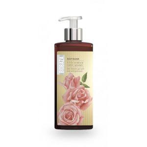 Sampon si gel de dus natural cu trandafiri si geranium, 400 ml (BZ40395)