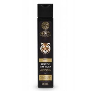 Sampon si gel de dus pentru barbati Fury of the Tiger, 250 ml (2967E)