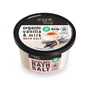 Sare de baie cu vanilie Vanilla Milk, 250 ml (2691E)