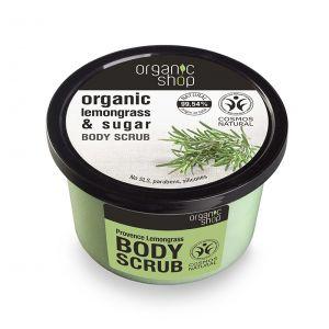 Scrub de corp delicios cu zahar si lemongrass Provence Lemongrass, 250 ml (2646E)