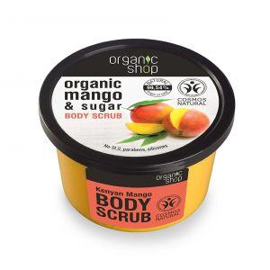 Scrub de corp delicios cu zahar si mango Kenyan Mango, 250 ml (2622E)