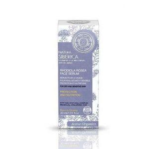 Serum cu Rhodiola Rosea, protectie si nutritie pentru ten uscat, sensibil, 30 ml (1175E)