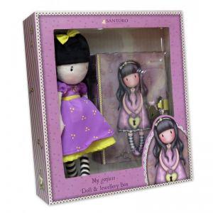 Set Gorjuss Papusa+cutie bijuterii - The Secret
