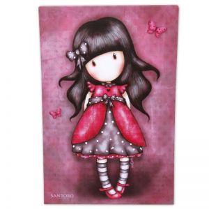 Tablou 19x29 canvas Gorjuss- Ladybird
