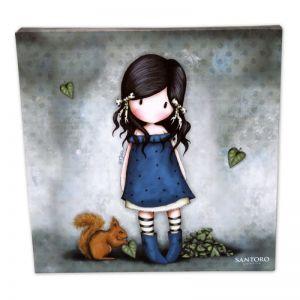 Tablou 24x24 canvas Gorjuss- You Brought Me Love