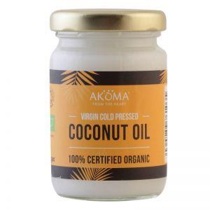Ulei de cocos certificat organic, presat la rece, grad alimentar, 100 ml (AKM016)