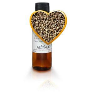 Ulei din seminte de canepa presat la rece, nerafinat, 60 ml (AKM132)