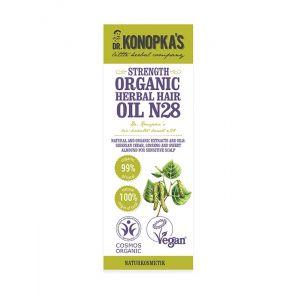 Ulei organic No.28, tratament pentru intarirea firului de par, 30 ml (9270E)