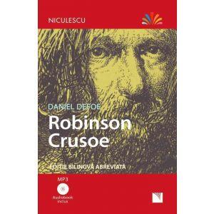 Robinson Crusoe - Ediție bilingvă, Audiobook inclus